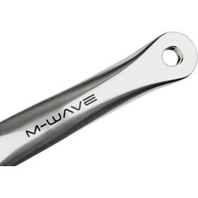 M-ighty Single Speed Crank Set 44 teeth polished aluminium poliert